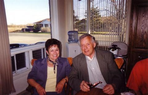 Jacqueline et Yvon en 1980.