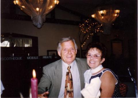Yvon et Jacqueline en 2002.